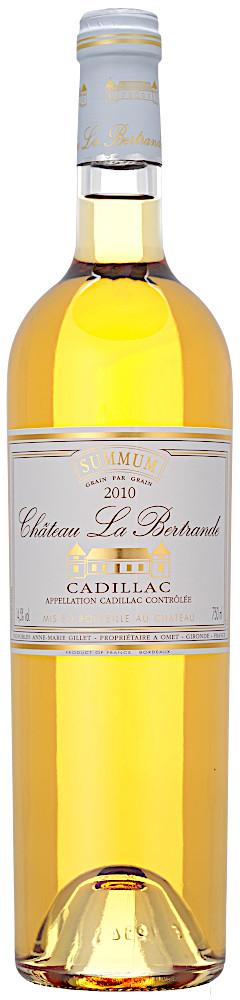 image of Château La Bertrande Cadillac Sec Summum 2010