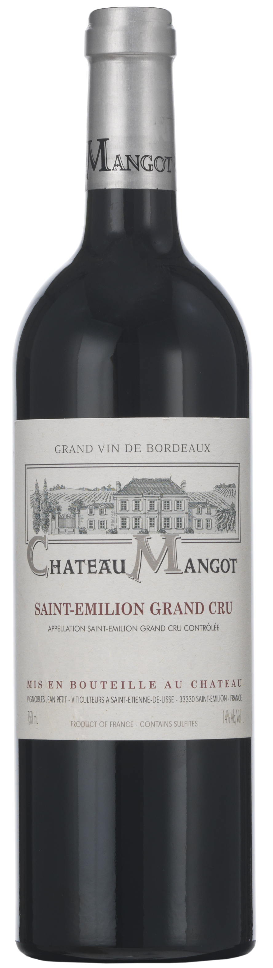 image of Château Mangot Saint-Emilion Grand Cru 2016