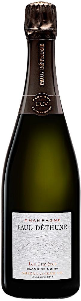 image of Champagne Paul Déthune Blanc de Noirs Les Crayères Grand Cru 2014