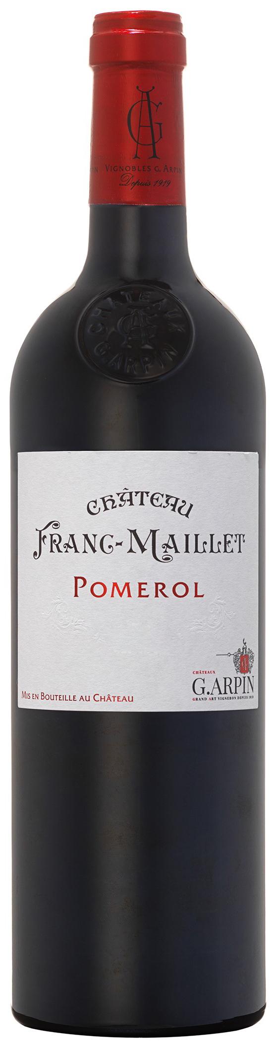 image of Château Franc-Maillet Pomerol 2016