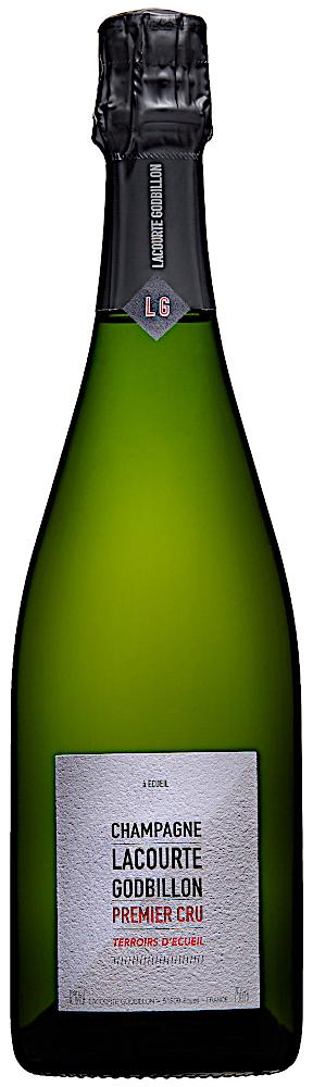 image of Champagne Lacourte Godbillon Terroirs d'Écueil 1:er Cru, ½ flaska NV