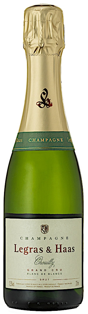 image of Champagne Legras & Haas Blanc de Blancs Grand Cru, ½ flaska NV