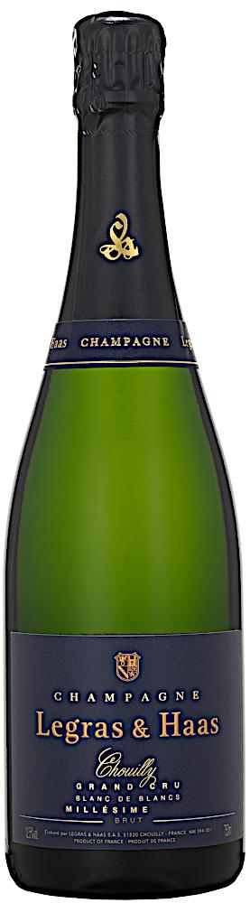 image of Champagne Legras & Haas Blanc de Blancs Grand Cru, Jeroboam 2012