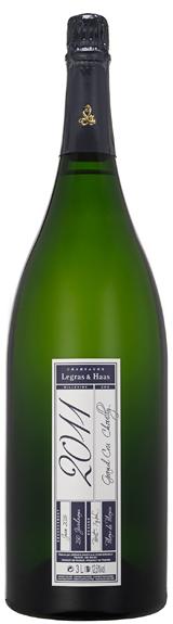 image of Champagne Legras & Haas Blanc de Blancs Grand Cru, Jeroboam 2011