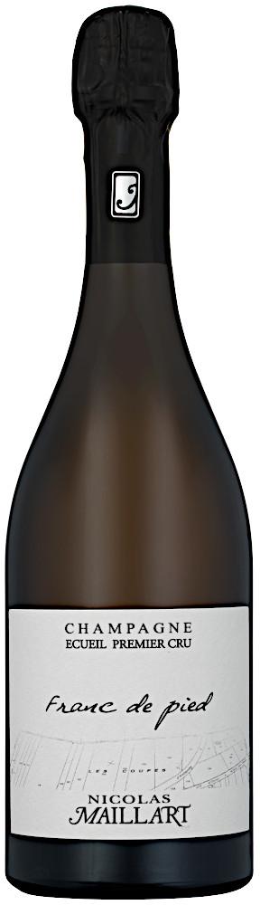 image of Champagne Nicolas Maillart Coupes 1:er Cru 2015