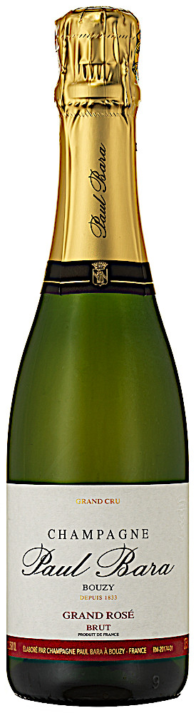 image of Champagne Paul Bara Grand Rosé Grand Cru, ½ flaska NV