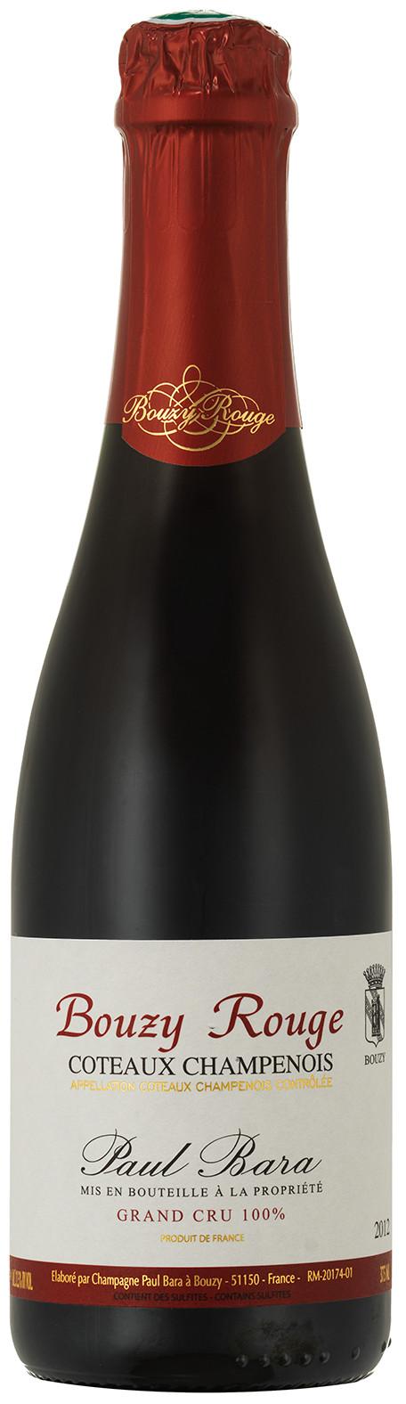 image of Champagne Paul Bara Bouzy Rouge ½ flaska 2012