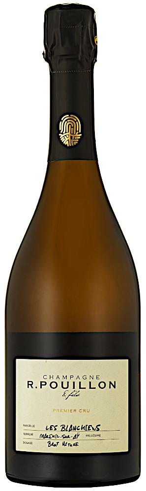 image of Champagne R. Pouillon & Fils Les Blanchiens Brut Nature 1:er Cru 2014