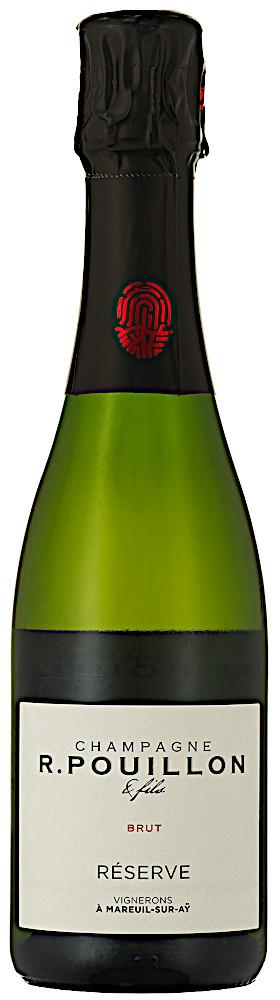 image of Champagne R. Pouillon & Fils Réserve Brut, ½ flaska NV