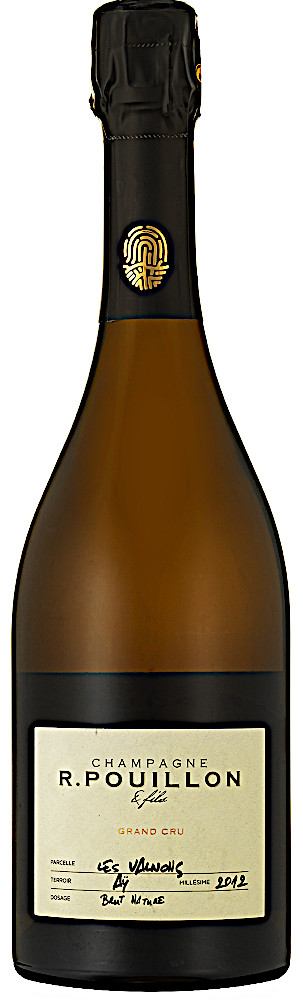 image of Champagne R. Pouillon & Fils Les Valnons Blanc de Blancs Grand Cru 2012
