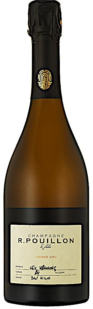 image of Champagne R. Pouillon & Fils Les Valnons Blanc de Blancs Grand Cru, magnum 2013