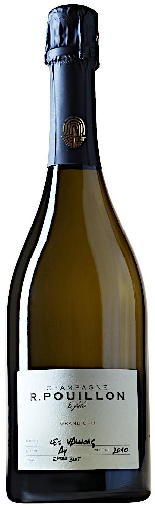 image of Champagne R. Pouillon & Fils Les Valnons Blanc de Blancs Grand Cru 2010